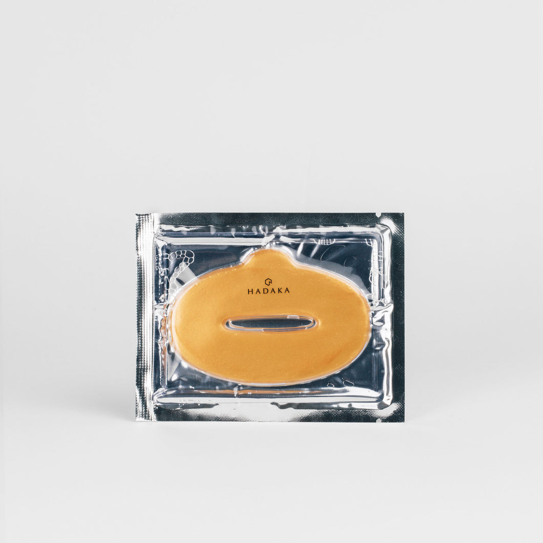 Hadaka Beauty | 24KT Gold Lip Mask
