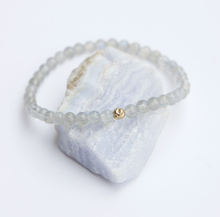 Load image into Gallery viewer, Dainty Serendipity Bracelet | Labradorite | Sterling Silver