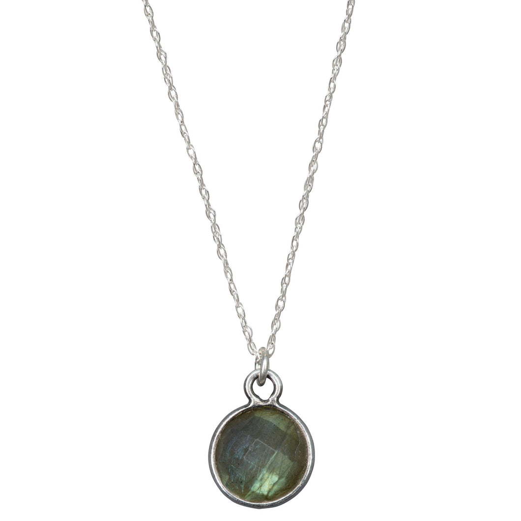 Charmed and Enchanted Labradorite | Sterling Silver Necklace