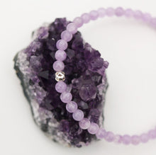 Load image into Gallery viewer, Dainty Dreamer Bracelet | Lavender Amethyst | Sterling Silver