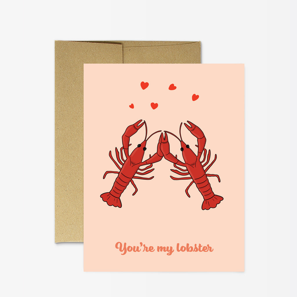 Party Mountain Paper Co. | You're My Lobster Card