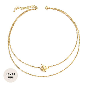 Luck | Gold Necklace