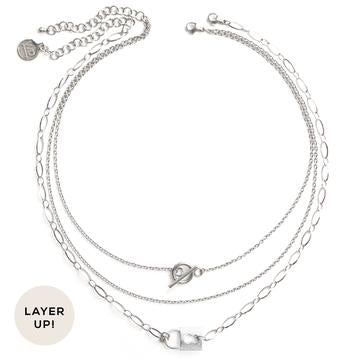 Luck | Silver Necklace