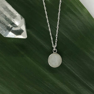 Charmed by Intuition Moonstone | Sterling Silver Necklace