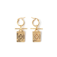 Load image into Gallery viewer, Navi | Gold Earrings
