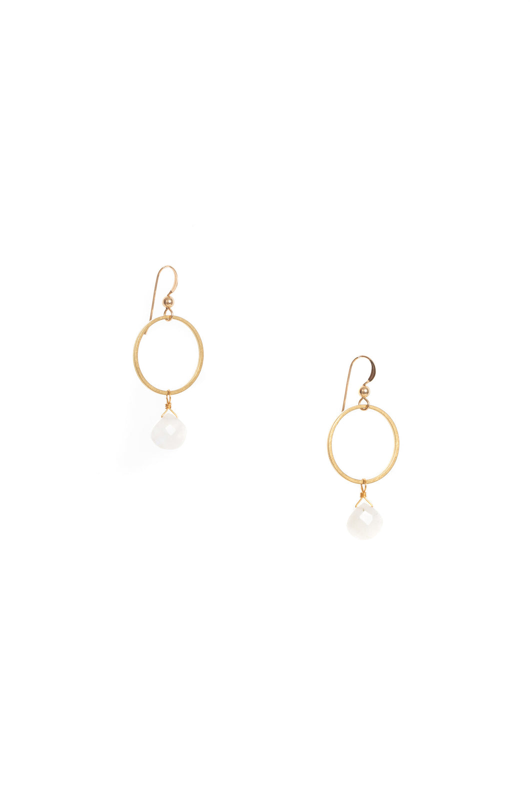 Hailey Gerrits | Rhea Earrings - Moonstone