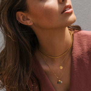 Sunny | Gold Layered Necklace