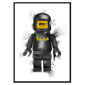 FF Bug Eyes Lego Black (117)