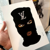 LV Mystery Mask Brown Eyes (274)
