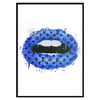 LV Lips Blue Portrait (243)