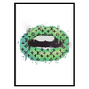 LV Lips Green Portrait (245)