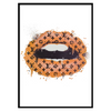 LV Lips Orange Portrait (249)