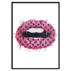 LV Lips Pink Portrait (250)