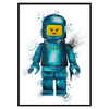 Crown Watch Lego Lips Blue (309)