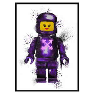 Off Lego Lips Purple (326)