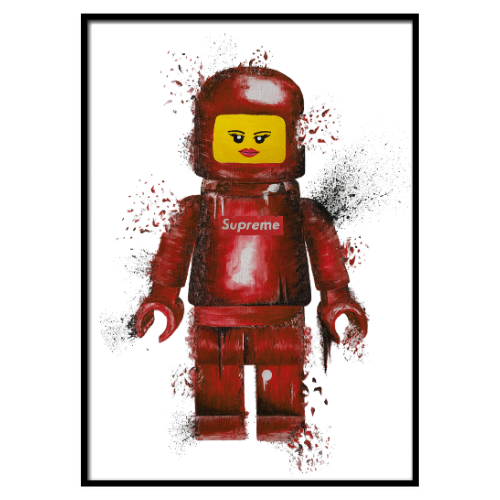 Supr Lego Lips Red (329)