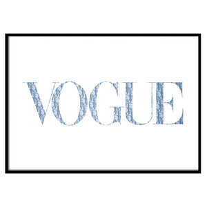VOGUE Christian D Baby Blue (196)