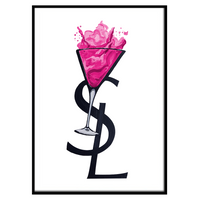 YSL Cocktail Hot Pink (204)