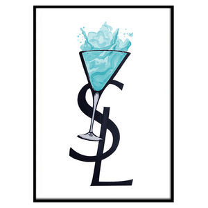 YSL Cocktail Ice Blue (205)