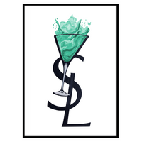 YSL Cocktail Turquoise (208)