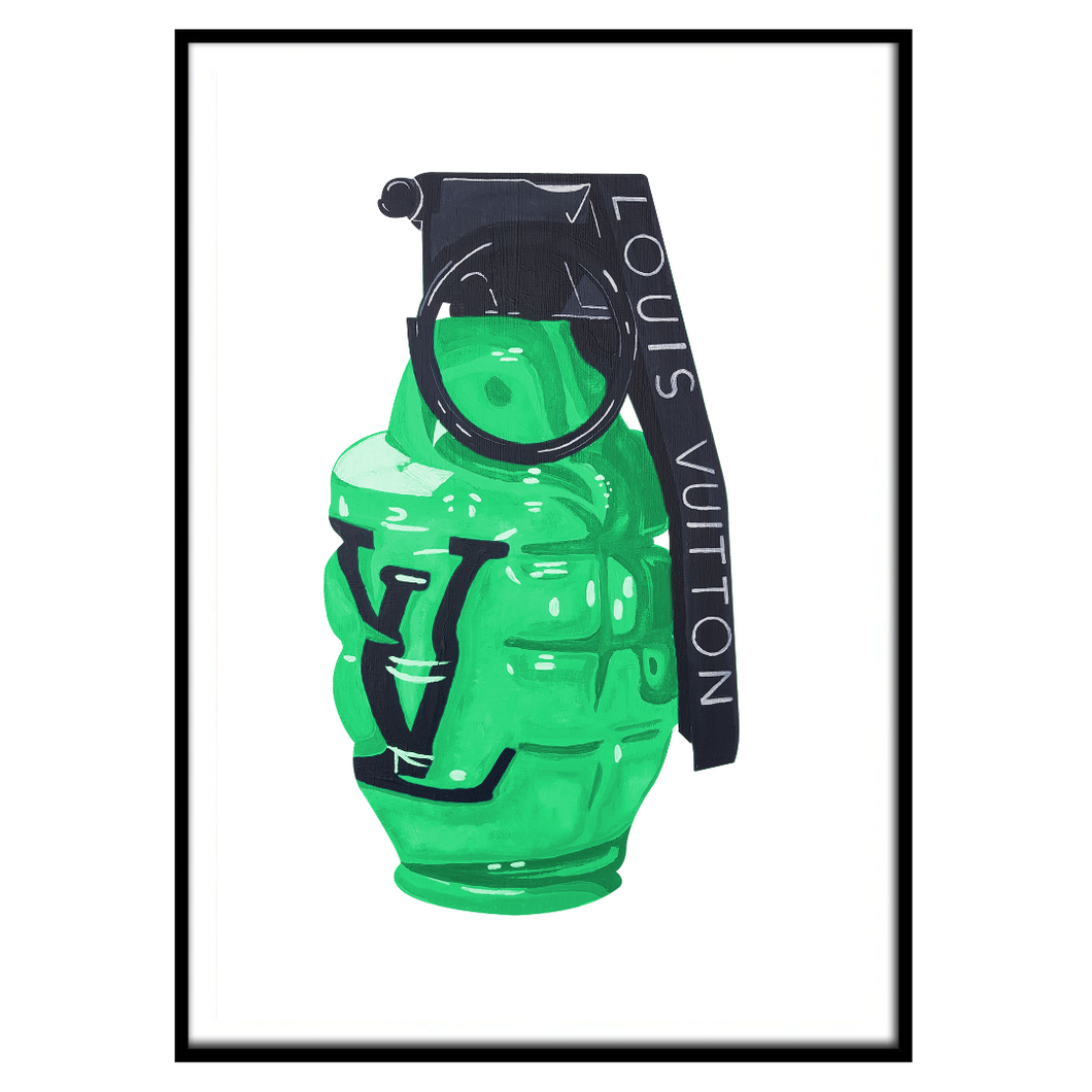 LV Grenade Emerald Green (143)