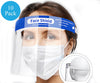 FACE SHIELD 10 PACK (PERSONAL PROTECTIVE EQUIPMENT)