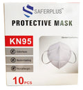 KN95 MASKS 4 PLY 10 PACK (PERSONAL PROTECTIVE EQUIPMENT)