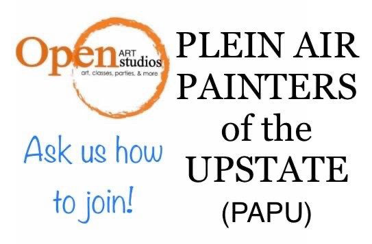 Welcome Plein Air Painters of the Upstate