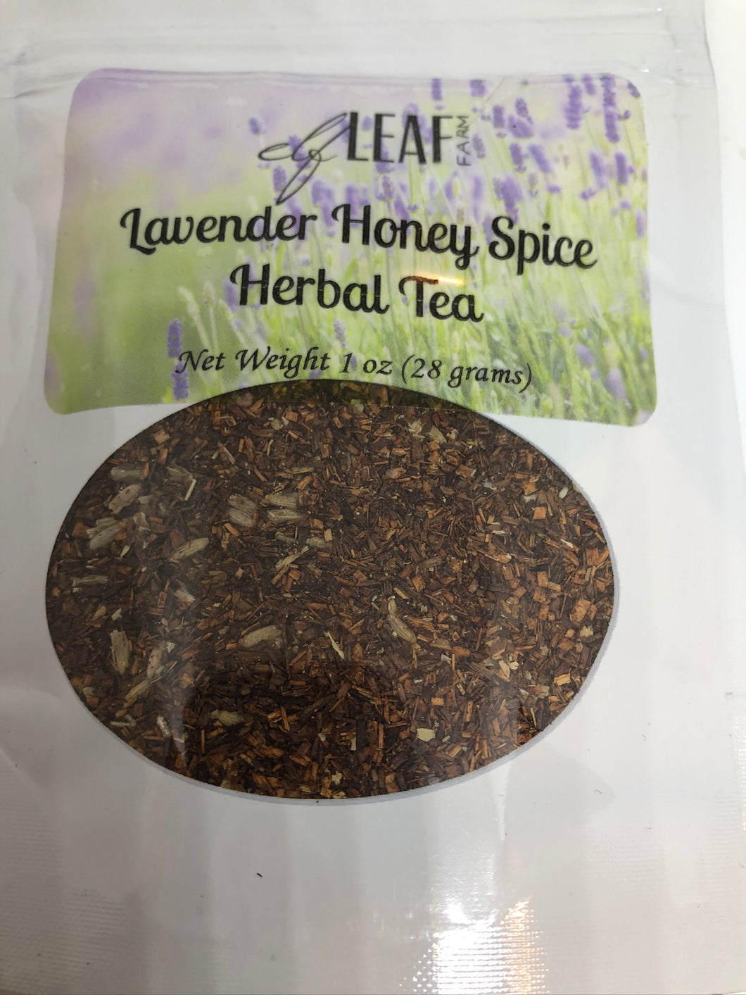 Lavender Honey Spice Herbal Tea 1 oz Package