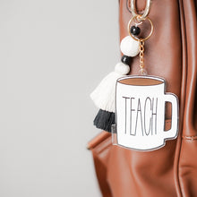 Load image into Gallery viewer, Style 2 Teach Mug Boho Bag Charms