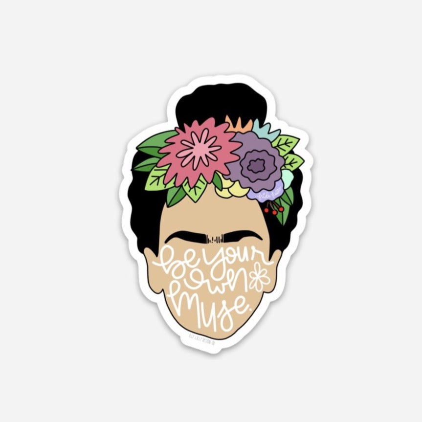 Frida Muse Sticker