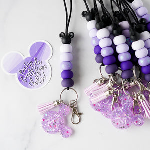 Purple Wall Lanyard Collection