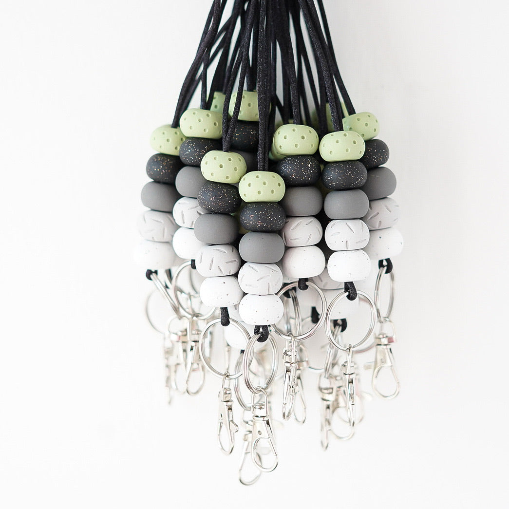 Sage and Stone Lanyard Collection