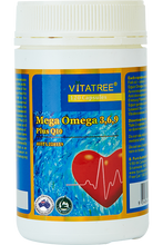 Load image into Gallery viewer, VITATREE Omega 3,6,9 Plus CoQ10 120 Capsules