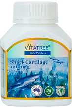 Load image into Gallery viewer, VITATREE Shark Cartilage 1000mg Pack of 2 x 100 Tablets