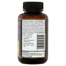 Load image into Gallery viewer, GO Healthy Krill Oil 1500mg 60 Softgel Capsules