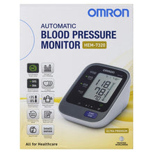 Load image into Gallery viewer, Omron HEM 7320 Ultra Premium Blood Pressure Monitor