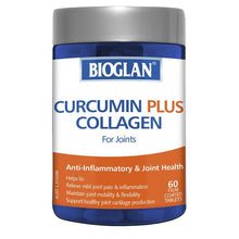 Load image into Gallery viewer, Bioglan Curcumin Plus Collagen 60 Tablets