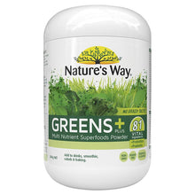 Load image into Gallery viewer, Nature's Way SuperFoods Greens Plus 300g