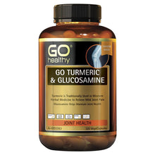 Load image into Gallery viewer, GO Healthy Turmeric & Glucosamine 120 Vege Capsules