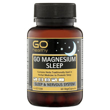 Load image into Gallery viewer, GO Healthy Magnesium Sleep 60 Vege Capsules