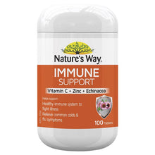 Load image into Gallery viewer, Nature's Way Immune Support 100 Tablets