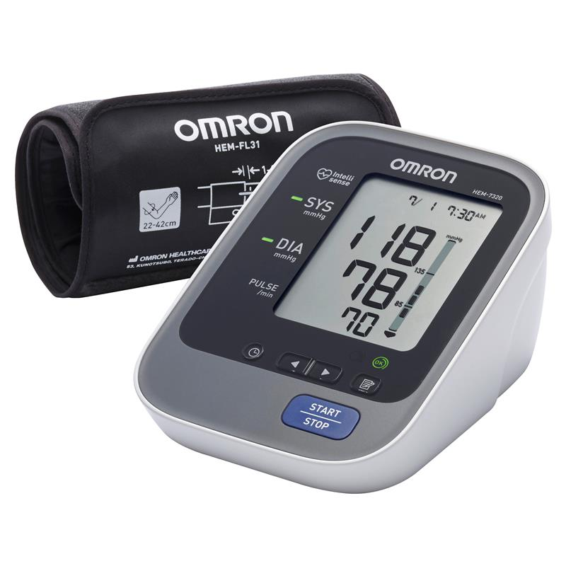 Omron HEM 7320 Ultra Premium Blood Pressure Monitor