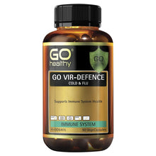 Load image into Gallery viewer, Go Healthy Vir-Defence 90 Vege Capsules