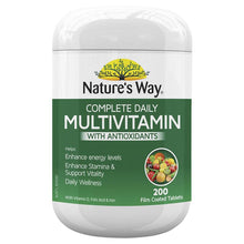 Load image into Gallery viewer, Nature's Way Complete Daily Multivitamin 200 Tablets