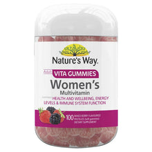 Load image into Gallery viewer, Nature's Way Vita Gummies Adult Womens Multivitamin 100