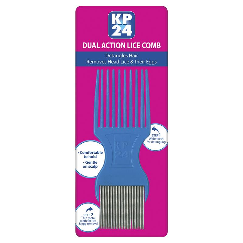 KP24 Long Tooth Head Lice/Nit Comb