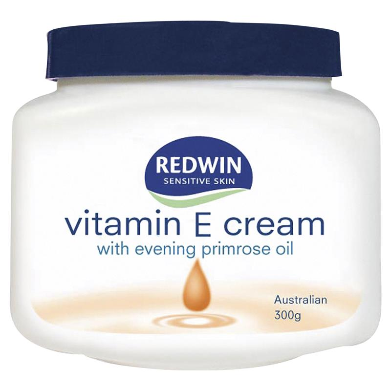 Redwin Vitamin E Cream with Evening Primrose Oil 300g