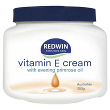 Load image into Gallery viewer, Redwin Vitamin E Cream with Evening Primrose Oil 300g