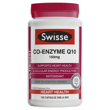 Load image into Gallery viewer, Swisse Ultiboost Co Enzyme Q10 150mg 180 Capsules